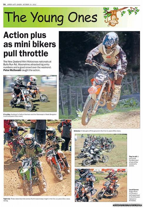 Caleb Davidson 56 Nz Mini Motocross Nationals