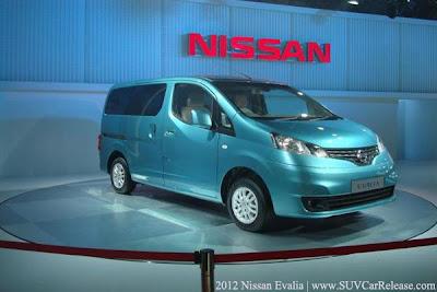 2012 Nissan Evalia.