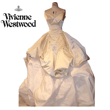 Shrimpton and perfect british red cross shop wedding event for Vivienne westwood wedding dress price