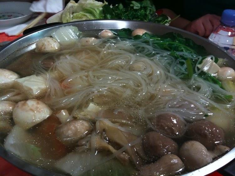 Ange 39 s blog fondue chinoise pour le dernier cours de - Fondue vietnamienne cuisine asiatique ...