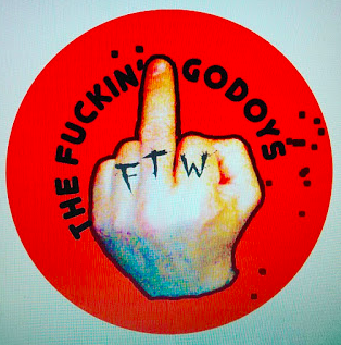 The Fuckin Godoys - FTW temporary tattoos / water decal.