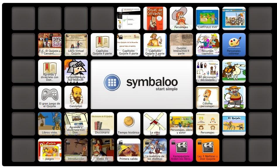 http://www.symbaloo.com/mix/elquijoteconlastic