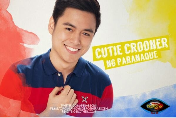 "Pinoy Big Brother All In housemate - Jacob Benedicto ""Cutie Crooner"""