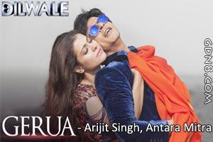 Gerua - Dilwale - Arijit Sing - SRK & Kajol