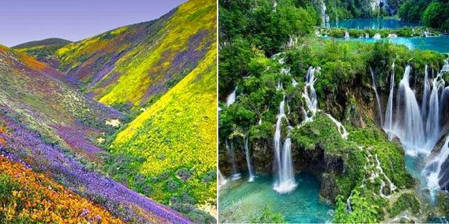 pemandangan indah di indonesia kata talita