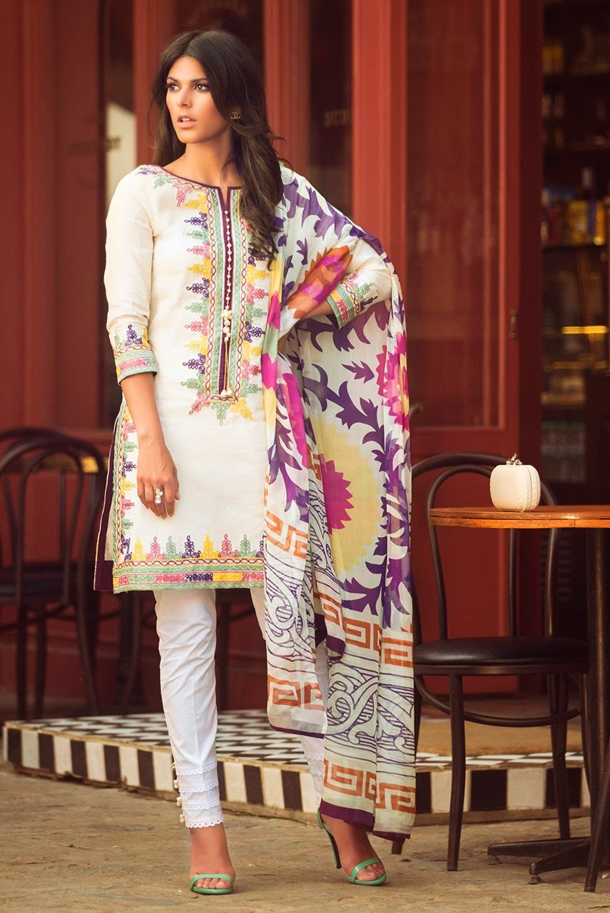 Zara Shahjahan Summer Lawn Collection 2015