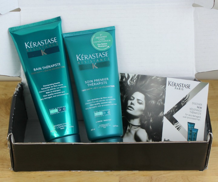 Kerastase Resistance Therapiste Bain Shampoo & Soin Premier Therapiste Conditioner review.