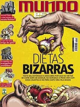 Download Mundo Estranho Edição 110 Abril 2011 Dietas Bizarras