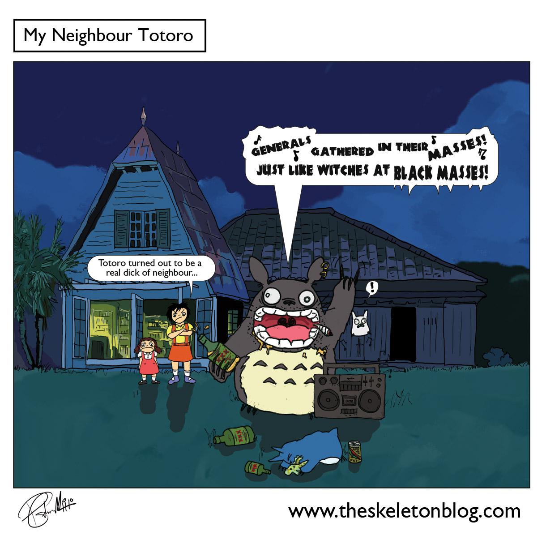 Free Comic Book Day 2013: Skeleton Blog: My Neighbour Totoro