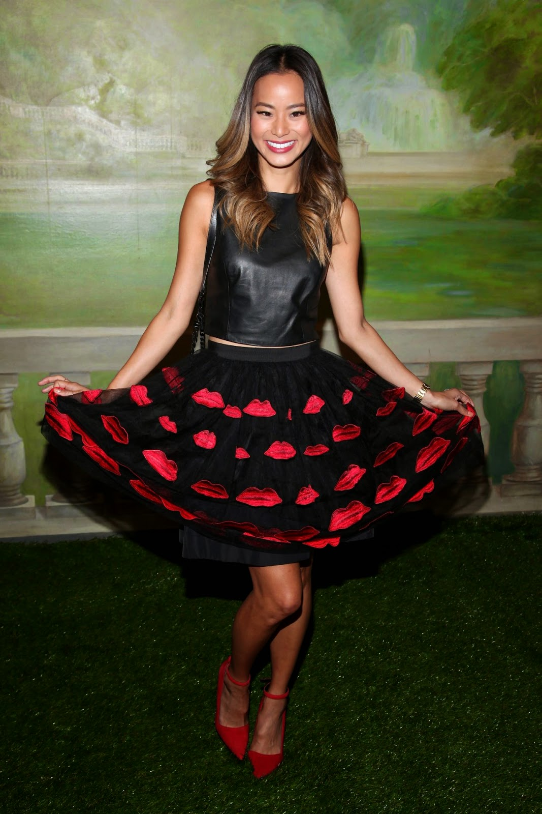 Jamie Chung - Alice + Olivia Spring 2015 New York Fashion Week Show