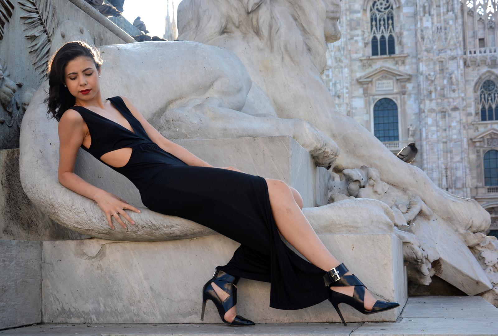 milan, milano, piazza duomo, duomo di milano, italy, juliane borges, shooting, culture and trend