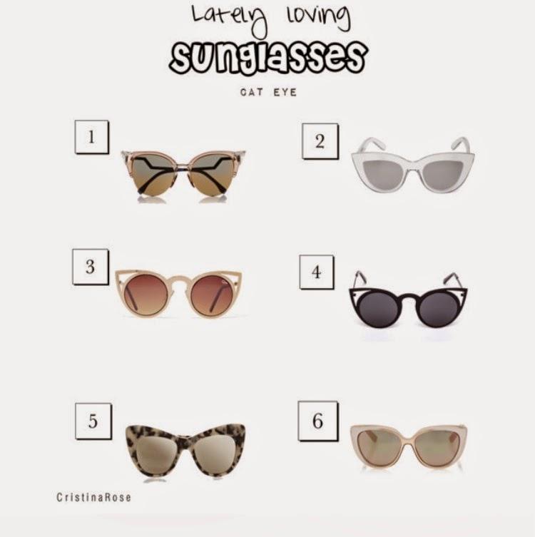 Lately Loving Sunglasses
