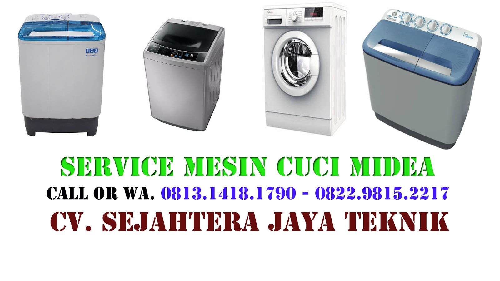 Service Mesin Cuci Midea di Jakarta Selatan