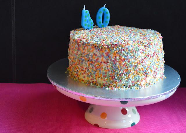 dairy-free cake chocolate confetti