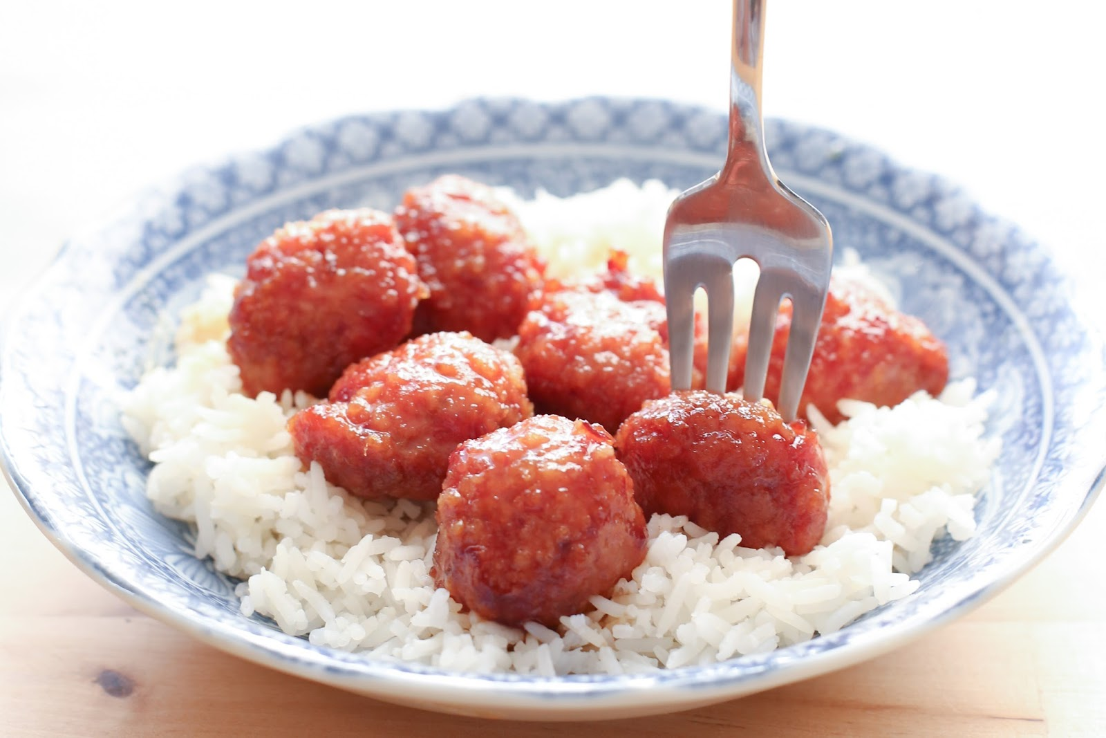old fashioned ham balls