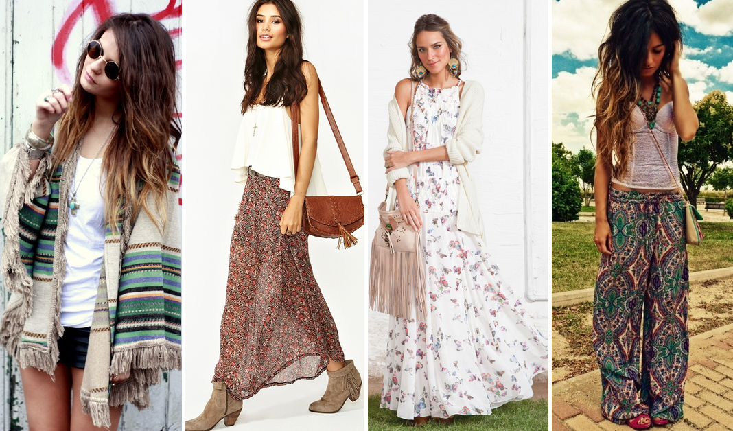 how to achieve the boho chic look