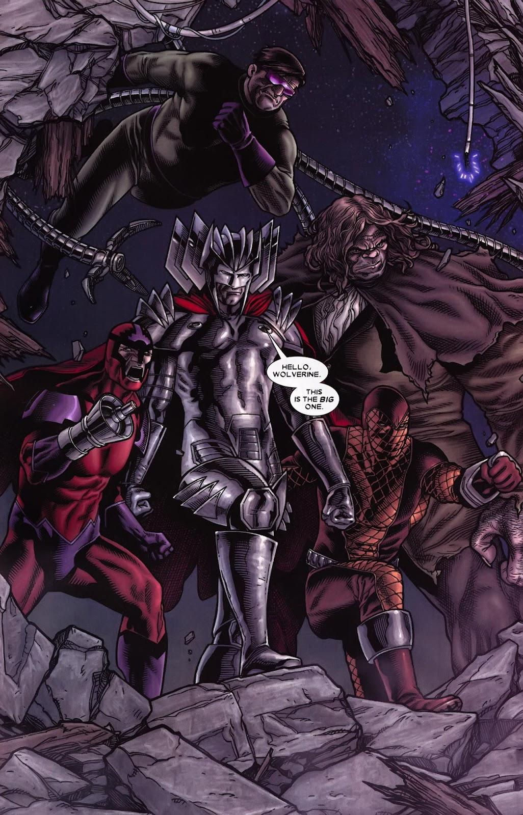 Read online Wolverine (2003) comic -  Issue #70 - 5