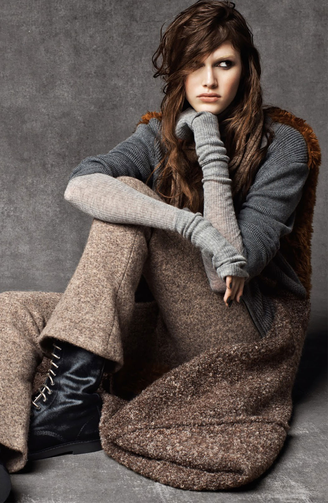 Vanessa Moody in Cold Play | Teen Vogue October 2014 (photography: Kacper Kasprzyk, styling: Elin Svahn)