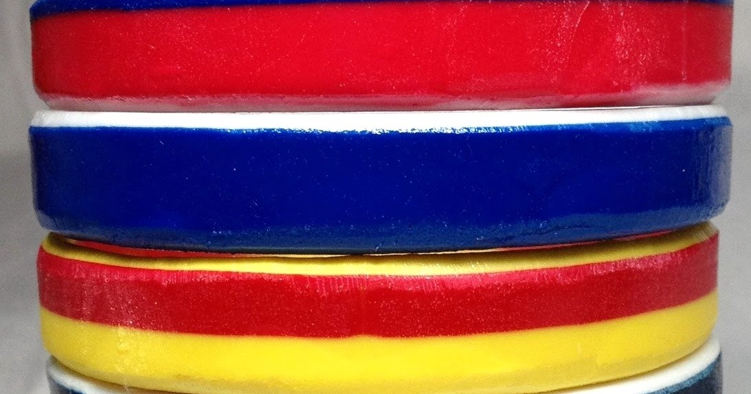 Amazing Casting Products Multi Colored Resin Bangles