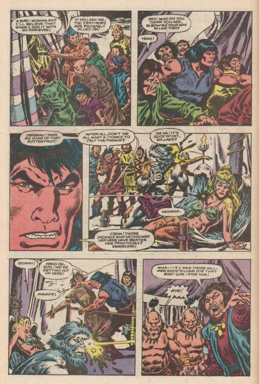 Conan the Barbarian (1970) Issue #168 #180 - English 7