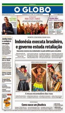 brasileiro, execução, indonésia