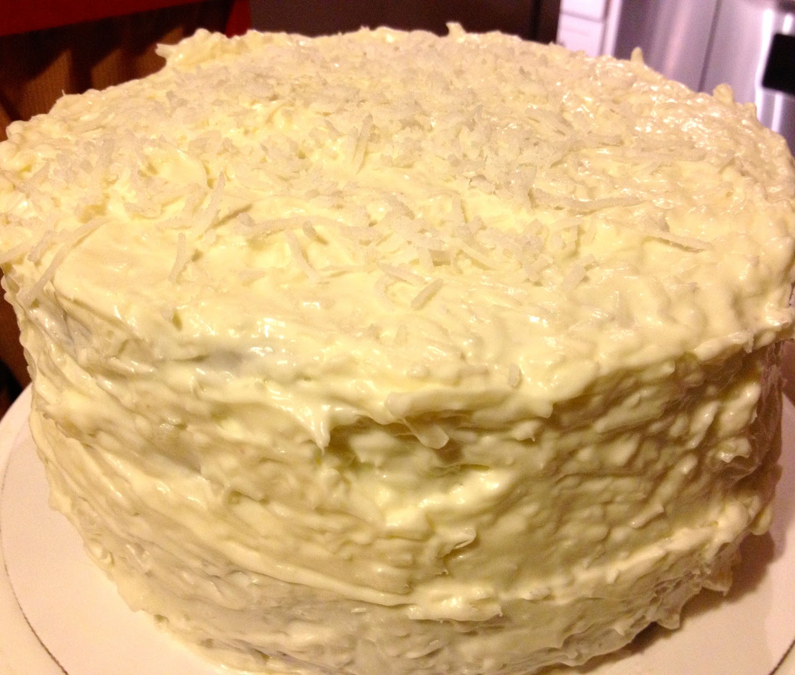 Heidi's Mix: Red Velvet Cake With Coconut Cream Cheese Icing