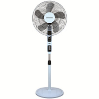Ventilator cu picior Heinner HSF-4000T, 55W, 40cm diametru, Display, Telecomanda