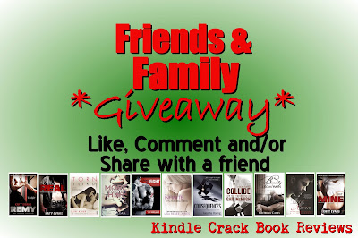 Here's a TWO random winners will receive one eBook choice to keep or giv