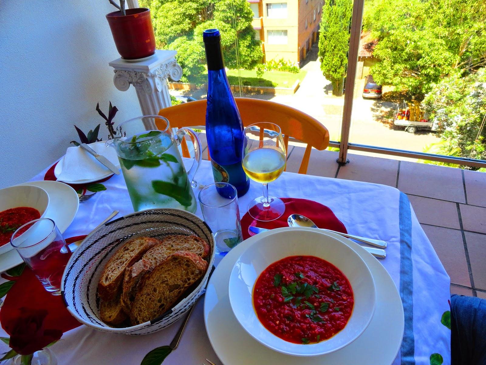 gazpacho delicious cold soup