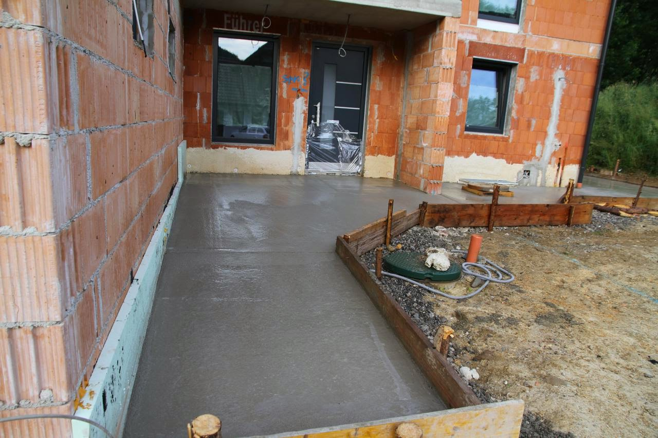 terrasse betonieren swalif. Black Bedroom Furniture Sets. Home Design Ideas