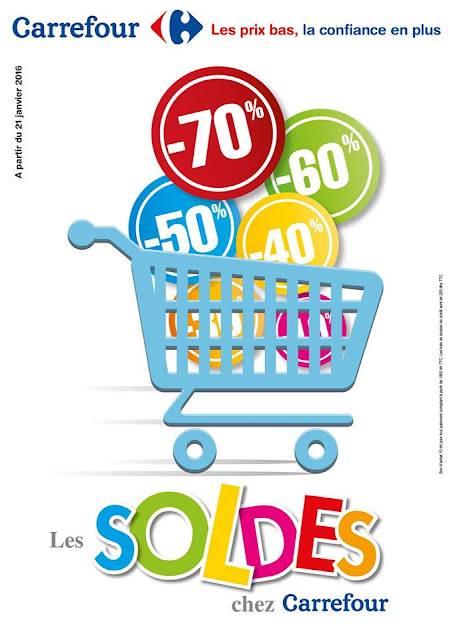carrefour soldes hiver 2016