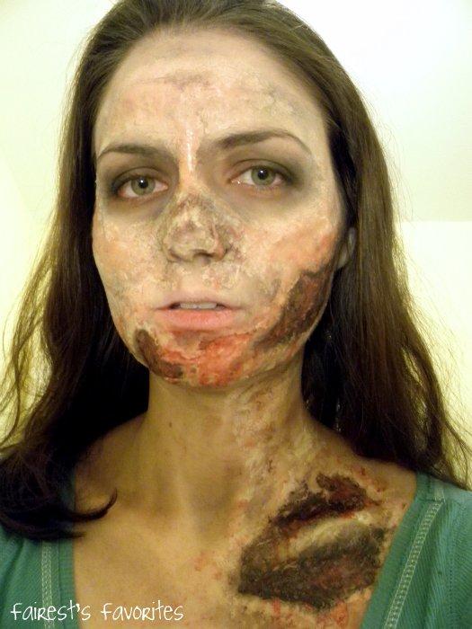 Fairests favorites halloween costume zombie makeup tutorial solutioingenieria Images