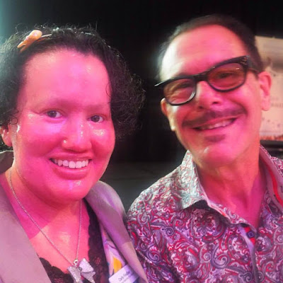 Carly Findlay and Kirk Pengilly