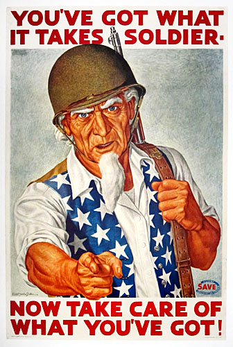 Arthur S. Hoffman as Uncle Sam