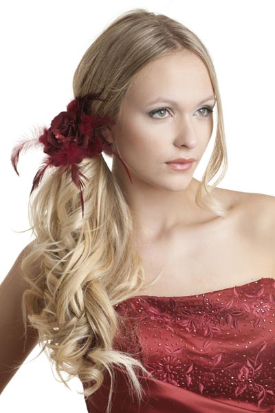 Romantic Side Ponytail Long Hair Hairstyles And Fashion
