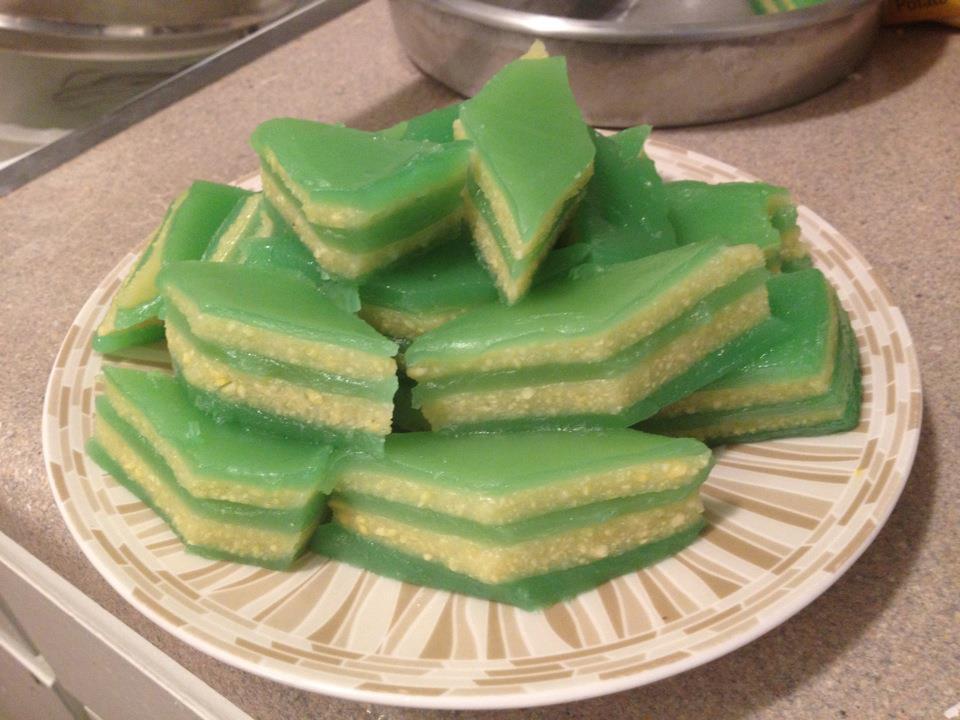 Vietnamese Steam Layer Cake Banh Da Lon