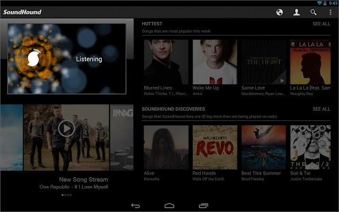 SoundHound 6.3.0 android screenshot