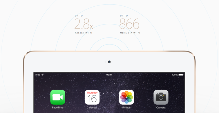 Five things that are really new in the ipad Air 2