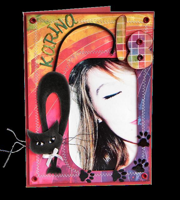 nietypowa kartka na 18 handmade z kotem galeria schaffar