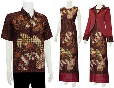 Foto Baju Batik Suami Istri