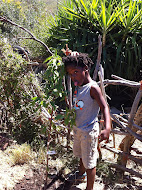 One of our friends helping with the Cape Town Permaculture Project