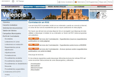 http://www.valencia.es/ayuntamiento/contratacion.nsf/vDocumentosTituloAux/RSS?opendocument&lang=1&nivel=6_15