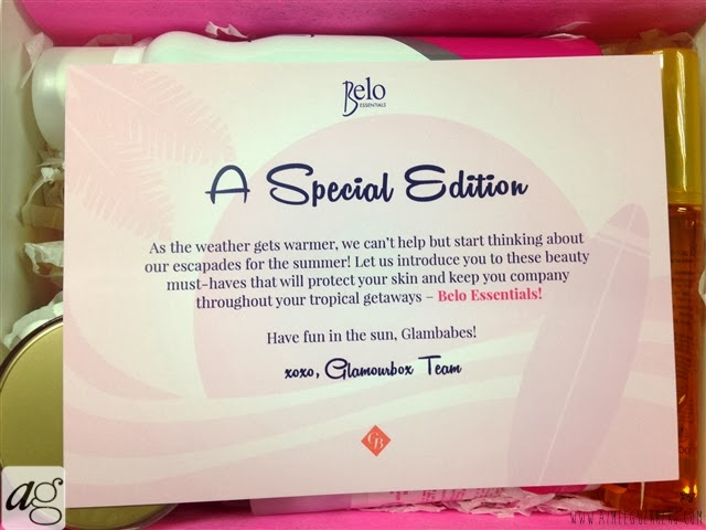 Glamourbox Exclusive Belo Box 2014