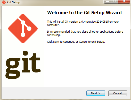 Install git bash on windows