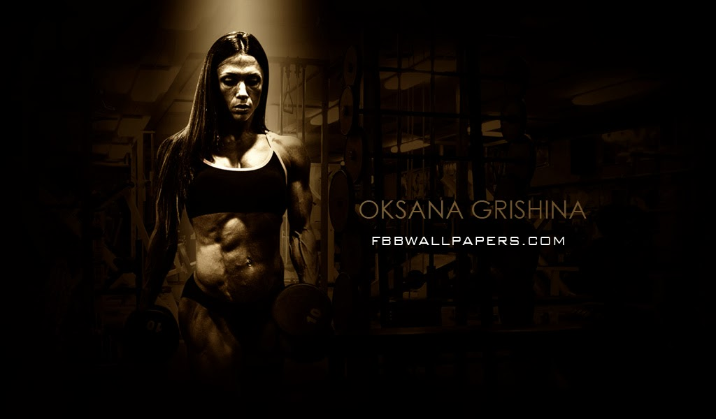 Oksana Grishina Desktop Wallpaper