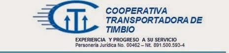 COOPERATIVA TRANSPORTADORA DE TIMBIO