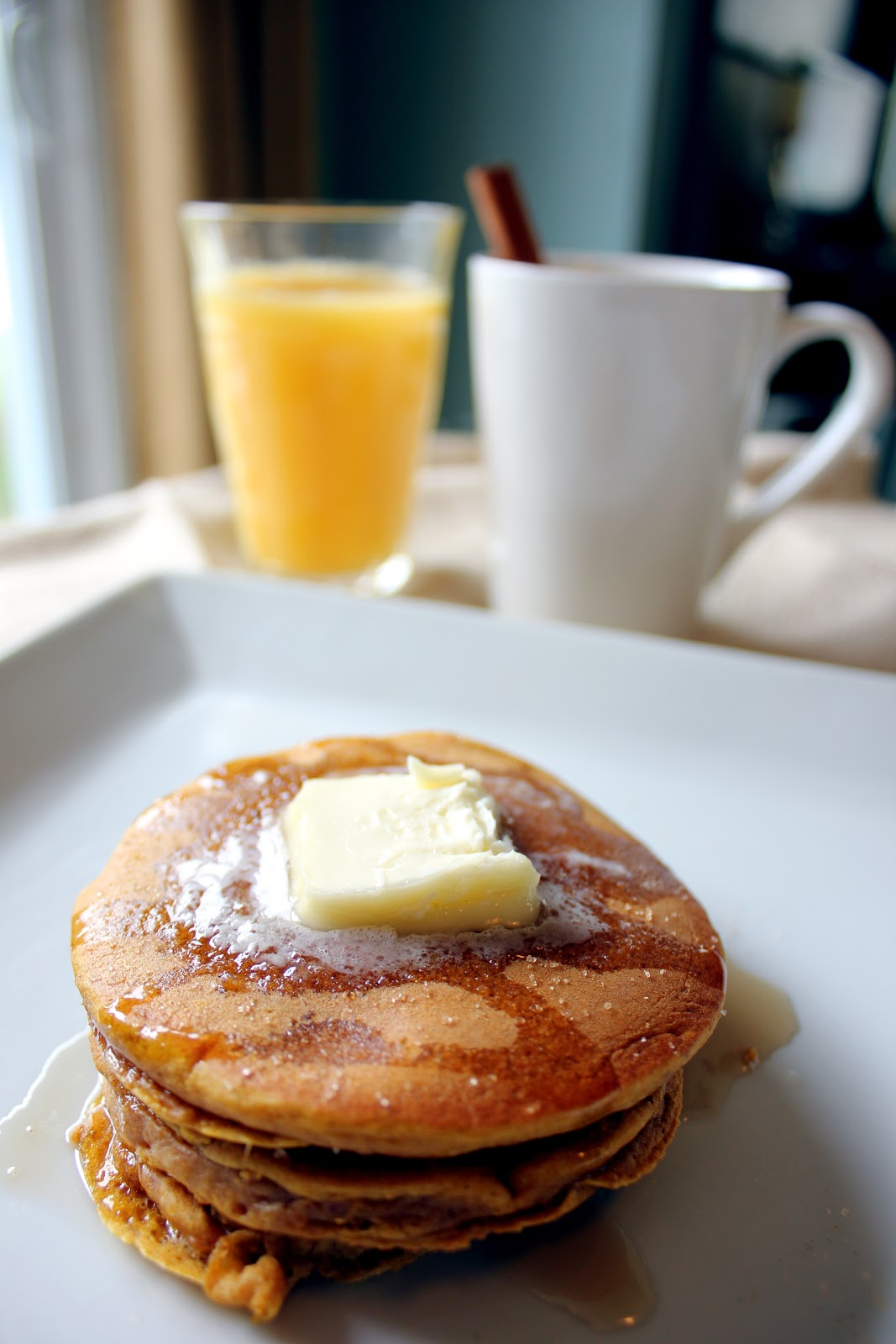 how to make low fat pancakes from scratch