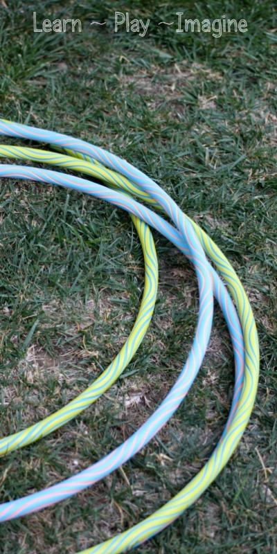 8 gross motor activities with hula hoops
