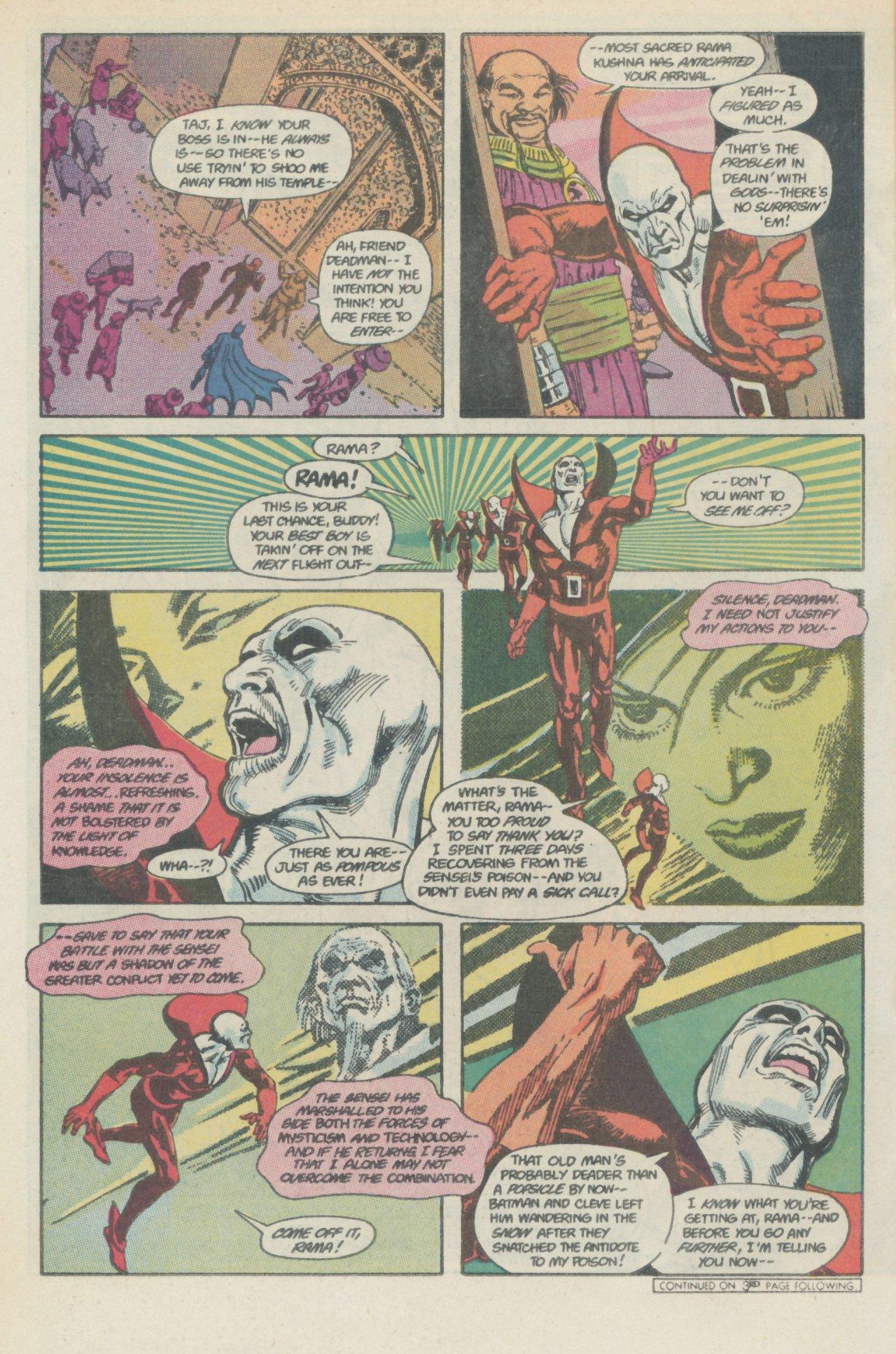 Deadman (1986) #1 #4 - English 7