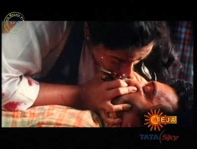 Soundarya hot kiss video stills